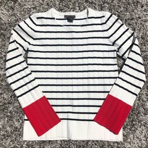 NWT RED BLACK & WHITE SWEATERS